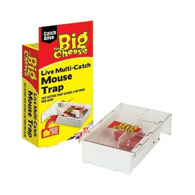 STV International The Big Cheese Live Multi-Catch Mouse Trap (TL1295)