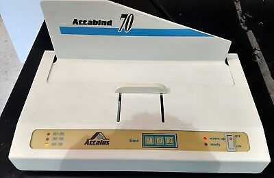 Attalus Attabind 70 Thermal Booklet Binder Heated Base for Book Binding