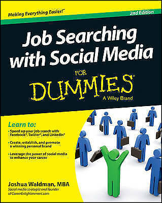 Job Searching with Social Media For Dummies, 2/e by Waldman, Joshua | Paperback