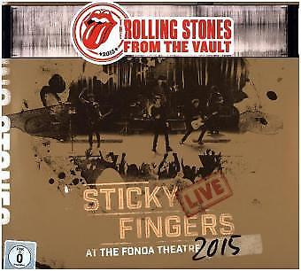 The Rolling Stones - From The Vault: Sticky Fingers Live 2015 (DVD+3LP) Vin NEU