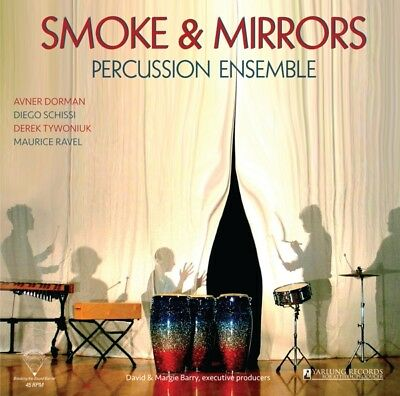 Smoke and Mirrors Percussion Ensemble - Smoke and Mirrors Vinyl LP Yarlung  NEU