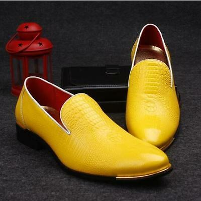 db413334e93 Ths01 New Men Wedding Slip On Oxford Pointy Toe Casual Patent Leather Dress  Shoe