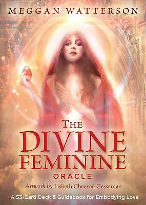 The Divine Feminine Oracle Deck: A 53-Card Deck & Guidebook for Embodying Love b