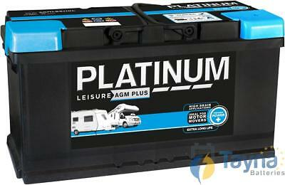 AGMLB6110L Platinum Leisure AGM Plus Batterie 12V 100Ah