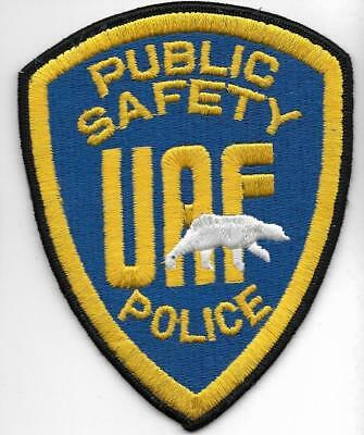 ALASKA  90er Police Patch UAF University of Fairbanks PS  Polizei Abzeichen USA