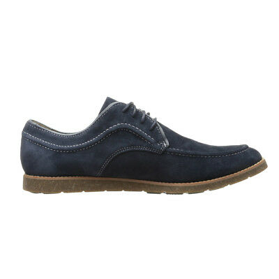 NEW Mens Hush Puppies Hade Jester Casual / Dress Shoes Navy Suede - Any Size!