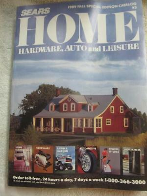 Vintage SEARS Catalog 1989 HOME - Fall Edition - Ship under $10 / 2 for $13.75