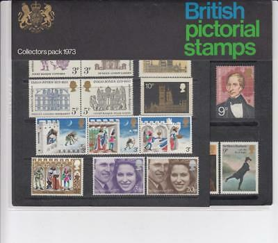 GB 1973 COLLECTORS YEAR PACK OF COMMEMORATIVE MINT STAMPS SG CP948k  SEE SCAN