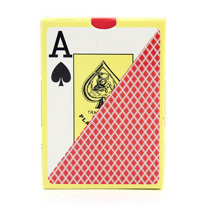 High Quality PLASTIC Waterproof Poker Size entertainment Playing Cards MSYG