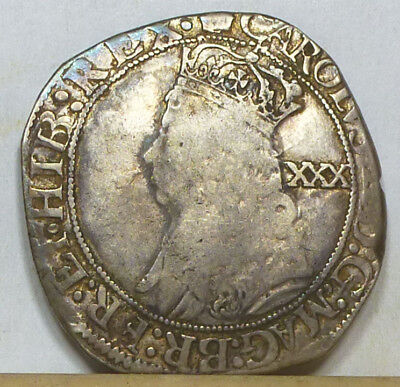 England Half Crown ND (1660-1662) Very Good Condition NO RESERVE