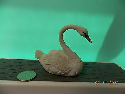 Miniature Swan Figure   Fairy Garden