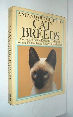 Grace Pond~Ivor Raleigh~Standard Guide To Cat Breeds Illustrated First Edition