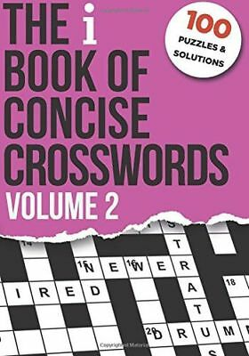 *NEW* - The i Book of Concise Crosswords Volume 2 (Paperback) - 1986307212