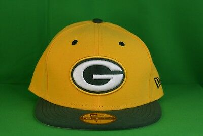 81583dda NEW ERA 59FIFTY NFL Green Bay Packers Fitted Hat Cap NWT 7 1/8