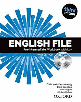English File third edition: Pre-intermediate: Workbook with key (PB) 019459873X