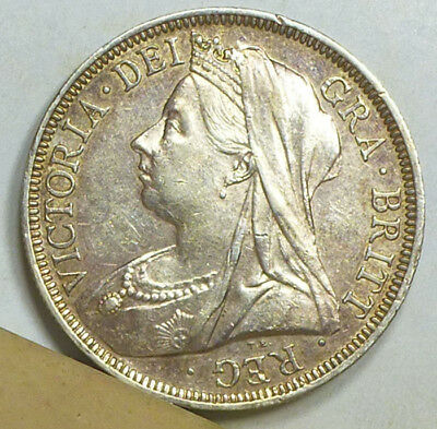 Great Britain Half Crown 1901 Extremely Fine NO RESERVE