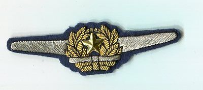 Japanese Army Gold Officer's Pilot's Wings WW 2