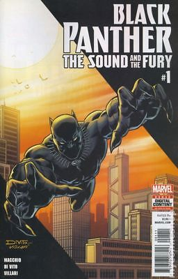 Black Panther The Sound and The Fury 1A 2018 NM Stock Image