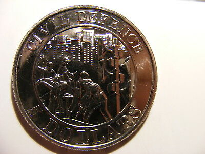 Singapore 1991 C/N 5 Dollars, KM#86, Workers building Nation, P/L Unc