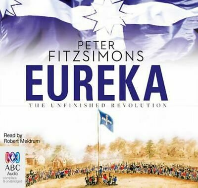 NEW Eureka By Peter FitzSimons Audio CD Free Shipping