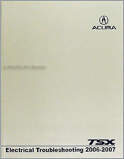2007 acura tsx electrical troubleshooting manual with wiring diagrams  schematics