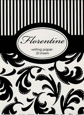 Florentine - Stationery - Writing Paper (Pad) and Envelopes