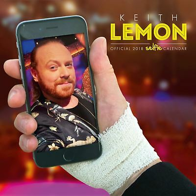 Keith Lemon SELFIE Oficial 2018 Cuadrado calendario de pared
