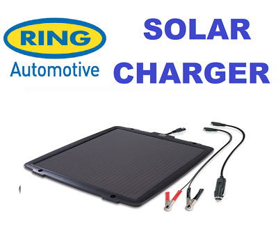 Ring RSP600 6w Solar Battery Charger / Maintainer Car Boat Caravan Motorhome