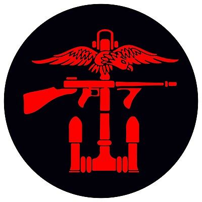 Combined Operations Right Facing Vinyl Decal / Sticker (75mm x 75mm)