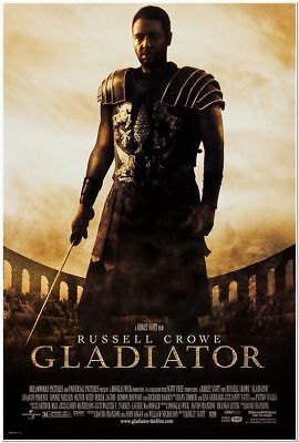GLADIATOR - 2000 - orig D/S 27x40 movie poster - RUSSELL CROWE - Regular Style