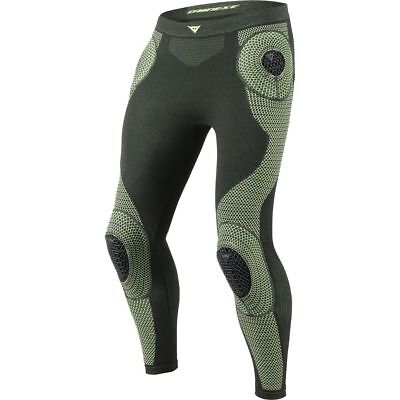 Dainese D-Core Armor Mens Base Layer Pants Black/Fluo Yellow