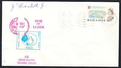 Bahamas #257 Apollo 14 Tracking Station Launch Cachet Space Cover 1971