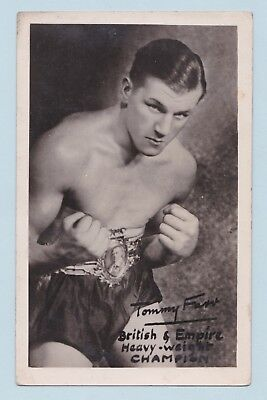 Boxing Postcard - Tommy Farr, British & Empire Heavyweight Champion (Unused)
