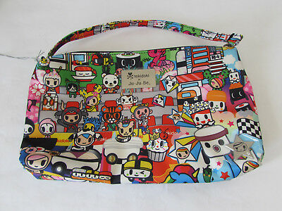 Jujube Ju Ju Be Tokidoki Be Quick wristlet diaper hand bag Sushi Cars E