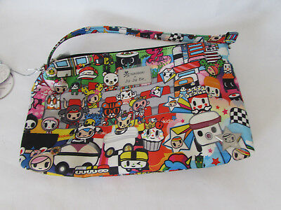 Jujube Ju Ju Be Tokidoki Be Quick wristlet diaper hand bag Sushi Cars K