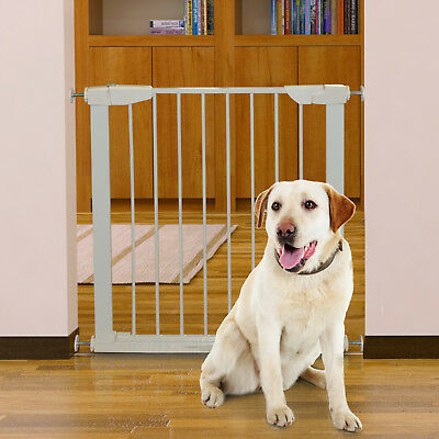 Retractable Pet Safety Gate Dog Barrier Door Adjustable Lightweight Portable