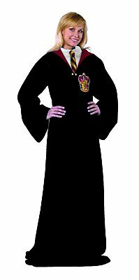 Harry Potter Gryffindor Hogwarts Rules Adult Comfy Throw Blanket with Sleeves