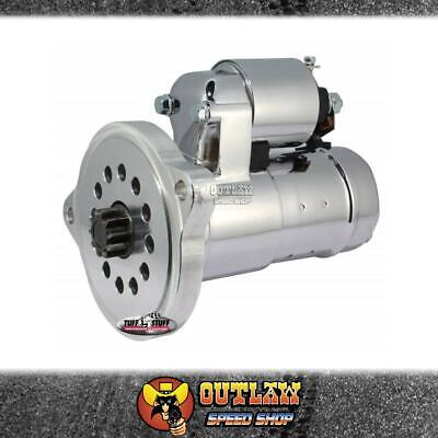 Tuff Stuff Chrome Ford Hi-Torque Starter Motor Suit Windsor & Clevo - Tuf6551A