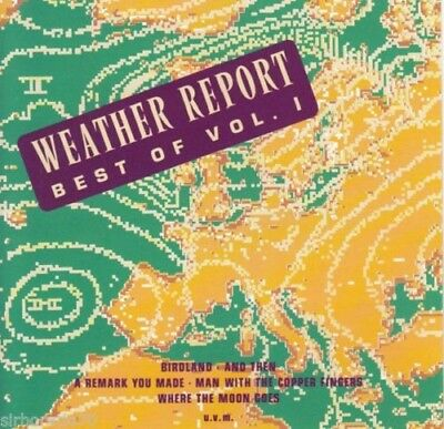 Weather Report: Best Of Vol 1 [13 Track Cd] Greatest Hits, Manhattan Transfer
