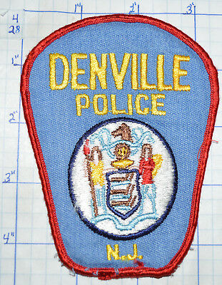 New Jersey, Denville Police Dept Patch