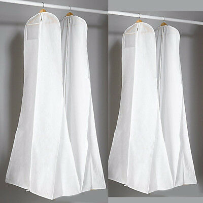 Wedding Dress Storage Bags Dustproof Bridal Gown Garment Cover Protector Strikin