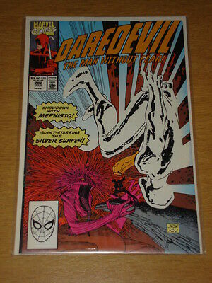 Daredevil #282 Marvel Comic Near Mint Condition Silver Surfer July 1990