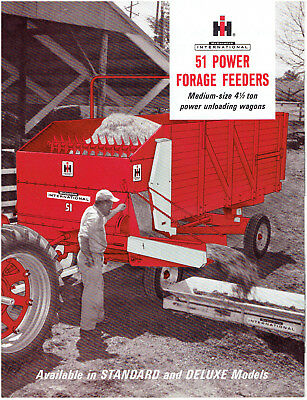 International Harvester McCormick 51 Power Forage Feeders Sales Brochure