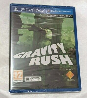 GRAVITY RUSH PSV New Sealed UK PAL Game Sony PlayStation Vita PS Vita