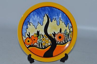 """Wedgwood Limited Edition Plate """"Garden Blue """"by Clarice Cliff ( SL140)"""