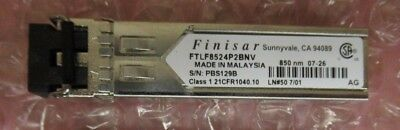 FINISAR FTLF8524P2BNV 1000Base-SX Duplex 4Gb/s 850nm SFP Transceiver Module
