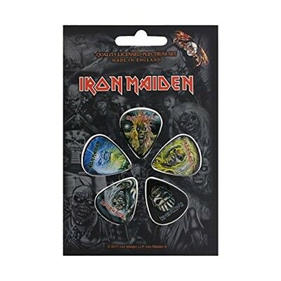 Iron Maiden Later Albums Guitar Plectrums - Pack Of 5 - Picks New Official Set