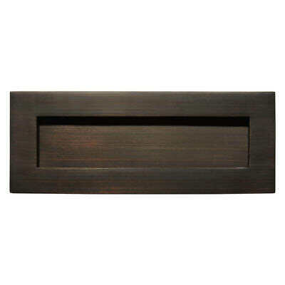 Signature Hardware Large Traditional Solid Brass Mail Slot