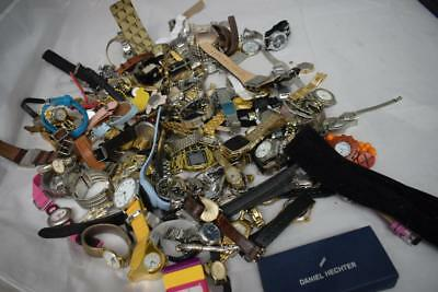 Job Lot Of Over 100 Watches Various Styles Colours And Brands