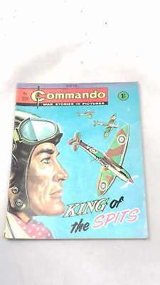 King of the Spits (Commando no. 238) by Anon, Paperback 1966-01-01, Acceptable